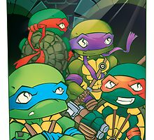 Heroes In A Halfshell by pinteezy