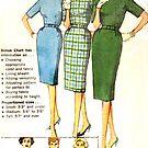 Simplicity Pattern 3574 : Circa Mid 1950's  by Lisa Defazio