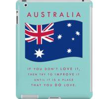 STRAYA - LOVE IT iPad Case/Skin