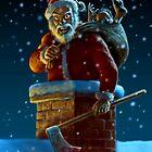 Psycho Santa by Paul Mudie