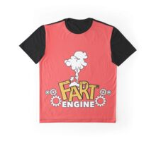 Fart Engine Cool Graphic T-Shirt
