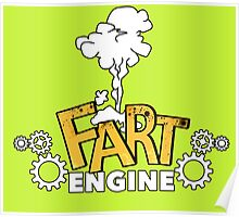 Fart Engine Hilarious Poster