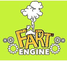 Fart Engine Hilarious Photographic Print