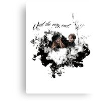 """James and Lily Potter """"Until The Very End"""" Canvas Print"""