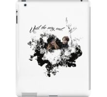 "James and Lily Potter ""Until The Very End"" iPad Case/Skin"
