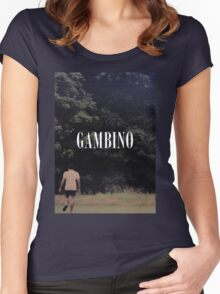 Childish Gambino Women's Fitted Scoop T-Shirt