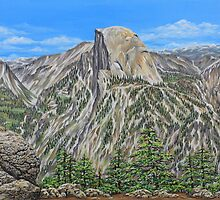 Springtime In Yosemite Valley by Jane Girardot