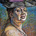 Aviva with Hat by Fred Hatt