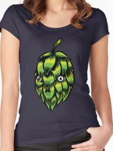 HOP SKULL Women's Fitted Scoop T-Shirt