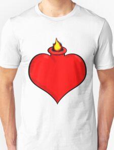 Flaming Heart 1 T-Shirt