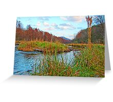 Beaver`s Bend,......Oklahoma U.S.A. Greeting Card