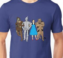 Why does the scarecrow keep saying 'brains'?! Unisex T-Shirt