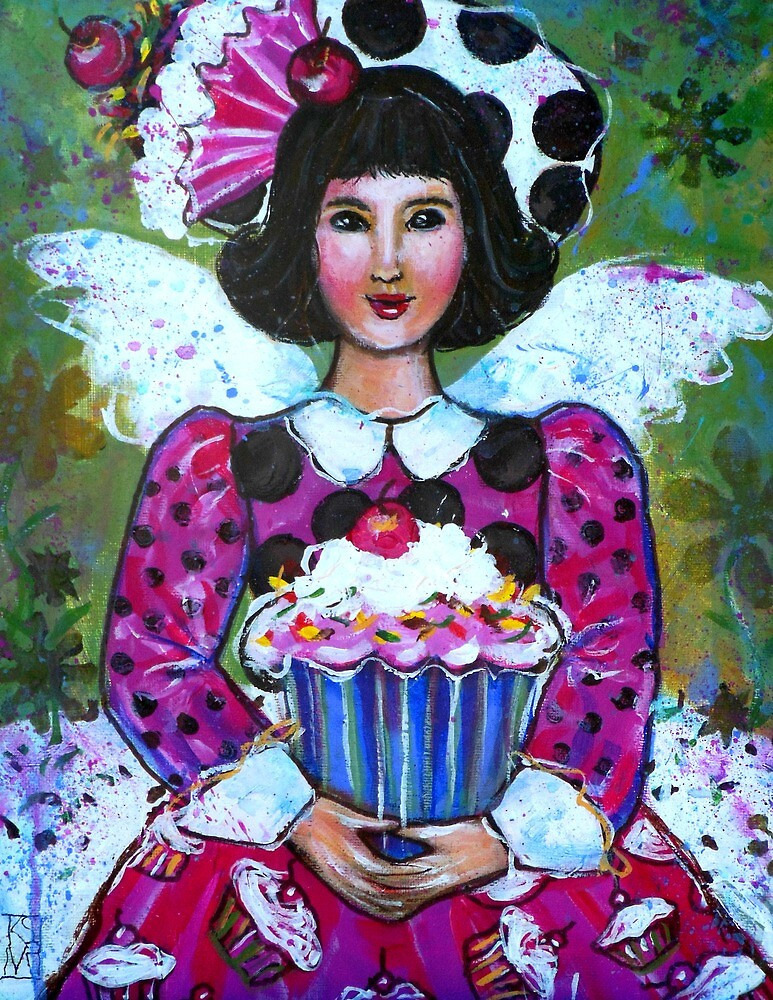 CANDY THE CUP CAKE ANGEL  by kimberlysdream