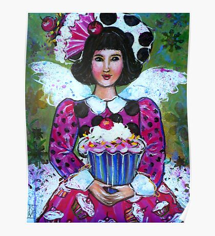 CANDY THE CUP CAKE ANGEL  Poster