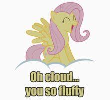 Fluttershy's Cloud by LazyPixel