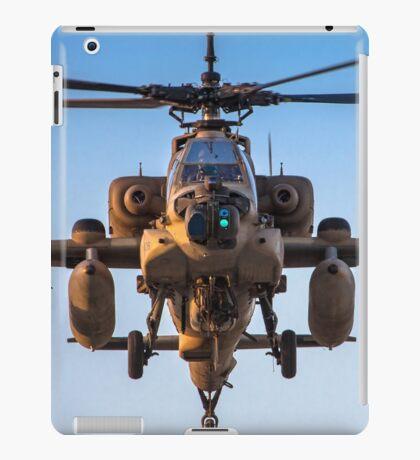 Apache AH-64A (Peten) Helicopter in flight iPad Case/Skin