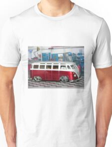 VW BUS red low and cool Unisex T-Shirt