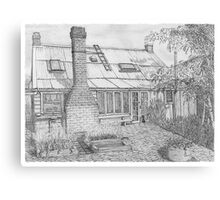 The Old Chimney Canvas Print