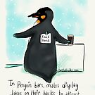 Jokes on you penguins by twisteddoodles