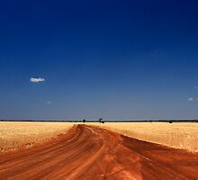Red Dirt And Golden Grain #2 by Noel Elliot