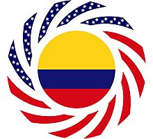 Colombian American Multinational Patriot Flag Series Photographic Print