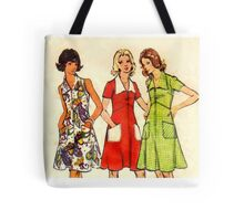 Butterick Pattern 3068 : Circa Late 60's / Early 70's Tote Bag