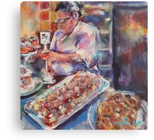 Pastry Passion Canvas Print