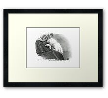 Safe At Last Framed Print