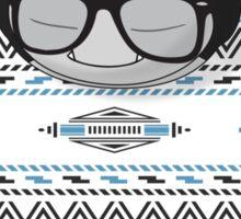 Hipster Snorlax Sticker