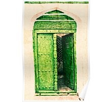 The Green Door Poster