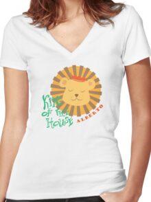 Alberto - tee Women's Fitted V-Neck T-Shirt