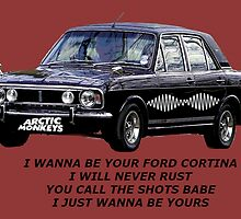 Ford Cortina [I Wanna Be Yours] Arctic Monkeys by raoulbhand