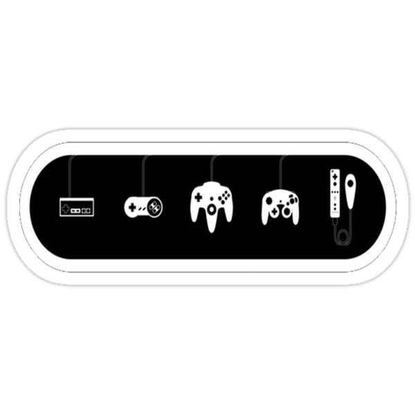 Nintendo controllers by Idelan