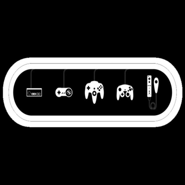 Nintendo controllers by Idelan