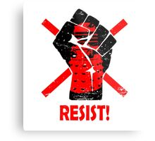 Resist the Daleks (still)! Metal Print
