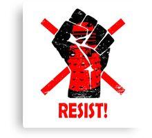 Resist the Daleks (still)! Canvas Print