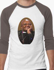 Desmond Tutu Men's Baseball ¾ T-Shirt