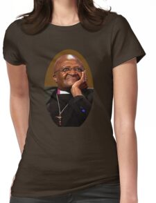 Desmond Tutu Womens Fitted T-Shirt