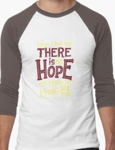 There is hope Men's Baseball ¾ T-Shirt