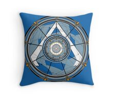 Basilica of the Gate of Stars Throw Pillow