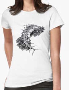 Kentrosaurus Womens Fitted T-Shirt