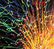 Firework Sunburst Sticker