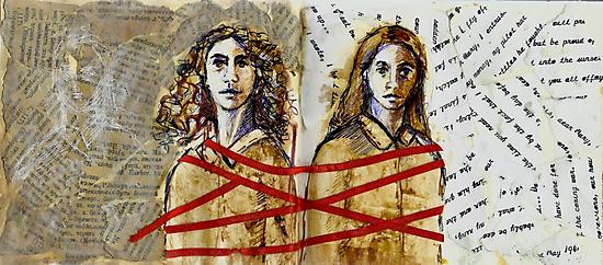 Les soeurs  by Michele Meister