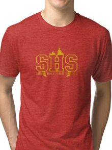 sunnydale high school deluxe Tri-blend T-Shirt