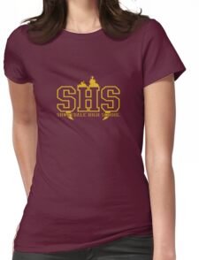 sunnydale high school deluxe Womens Fitted T-Shirt