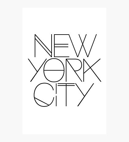 NYC Photographic Print
