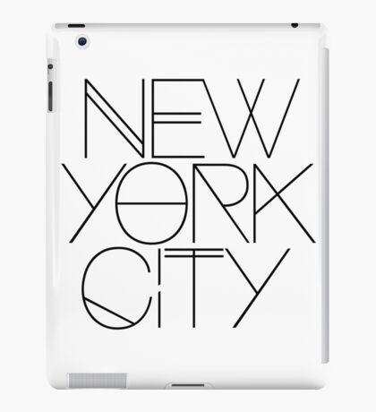 NYC iPad Case/Skin