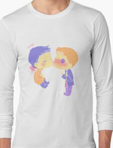 Destiel Cheek Kiss T-Shirt