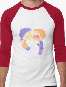 Destiel Cheek Kiss Men's Baseball ¾ T-Shirt