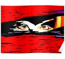 Voodoo Eyes Poster